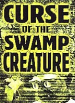 Jaquette Curse of the Swamp Creature