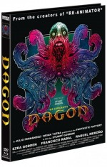Jaquette Dagon (DVD + BLURAY) - Cover C