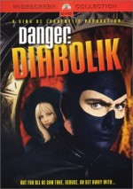 Jaquette Danger : Diabolik EPUISE/OUT OF PRINT