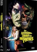 Jaquette Das Schreckenscabinett Des Dr Phibes (Blu-Ray+DVD) (2Discs) - Cover B EPUISE/OUT OF PRINT
