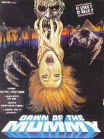 Jaquette Dawn of the Mummy