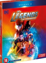Jaquette DC's Legends of Tomorrow - Saison 2