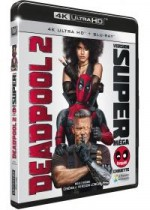 Jaquette Deadpool 2 (Blu-ray 4K Ultra HD + Blu-ray)