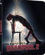 Jaquette Deadpool 2 [Version Super Méga $@%!#& Chouette - Édition boitier SteelBook]