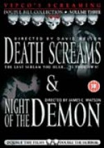 Jaquette Death Screams / Night Of The Demon EPUISE/OUT OF PRINT