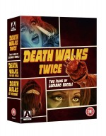 Jaquette Death Walks Twice: Two Films by Luciano Ercoli Dual Format Limited Edition Boxset