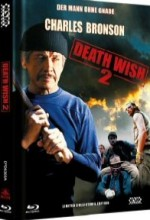 Jaquette Death Wish 2 - Der Mann ohne Gnade (Blu-Ray+DVD) (2Discs) - Cover A EPUISE/OUT OF PRINT