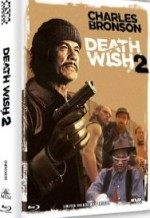 Jaquette Death Wish 2 - Der Mann ohne Gnade (Blu-Ray+DVD) (2Discs) - Cover B EPUISE/OUT OF PRINT