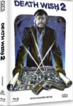 Jaquette Death Wish 2 - Der Mann ohne Gnade (Blu-Ray+DVD) (2Discs) - Cover C EPUISE/OUT OF PRINT
