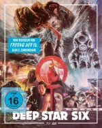 Jaquette Deep Star Six (Blu-Ray+DVD) - Cover B EPUIS/OUT OF PRINT