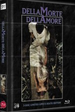 Jaquette Dellamorte Dellamore - Love and Death Edition - 3-Disc Ultimate Edition (DVD+Blu-Ray+Blu-Ray 3D) Limited 222 Edition Cover A EPUISE/OUT OF PRINT