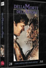 Jaquette Dellamorte Dellamore - Love and Death Edition - 3-Disc Ultimate Edition (DVD+Blu-Ray+Blu-Ray 3D) Limited 222 Edition Cover C