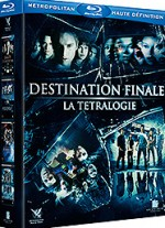 Jaquette Destination finale - La ttralogie