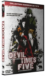 Jaquette Devil Times Five