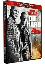 Jaquette Die Hard 5 : Belle journ�e pour mourir (Combo Blu-ray Version Longue + DVD - �dition Limit�e bo�tier SteelBook)