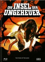Jaquette Die Insel der Ungeheuer (Blu-ray + DVD) - Cover A