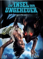 Jaquette Die Insel der Ungeheuer (Blu-ray + DVD) - Cover C
