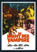 Jaquette Die nacht der Vampire EPUISE/OUT OF PRINT