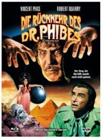 Jaquette Die Rückkehr des Dr. Phibes (Blu-Ray+DVD) Cover A