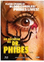 Jaquette Die Rückkehr des Dr. Phibes (Blu-Ray+DVD) Cover B