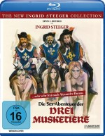 Jaquette Die Sex-Abenteuer der drei Musketiere (The New Ingrid Steeger Collection)