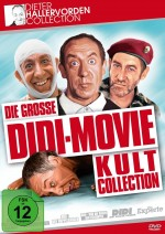 Jaquette Dieter Hallervorden - Die große Didi-Movie Kult-Collection