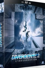 Jaquette Divergente 2 : L'insurrection (Combo Collector Blu-ray 3D + Blu-ray + DVD)