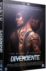 Jaquette Divergente (Combo Blu-ray + DVD)