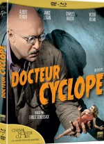 Jaquette Docteur Cyclope [Combo Blu-Ray + DVD]