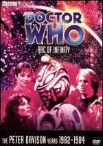 Jaquette Doctor Who: Arc of Infinity