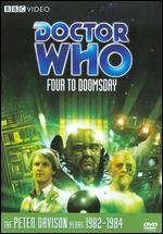 Jaquette Doctor Who: Four to Doomsday