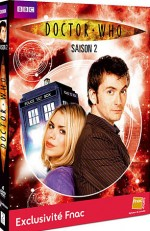 Jaquette Doctor Who - Saison 2 (�dition Sp�ciale FNAC)