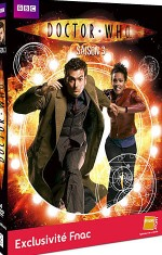 Jaquette Doctor Who - Saison 3 (�dition Sp�ciale FNAC)