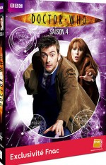 Jaquette Doctor Who - Saison 4 (�dition Sp�ciale FNAC)