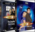 Jaquette Doctor Who: The Complete First and Second Series
