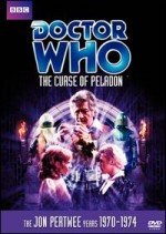 Jaquette Doctor Who: The Curse of Peladon