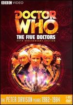 Jaquette Doctor Who: The Five Doctors