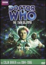 Jaquette Doctor Who: The Twin Dilema
