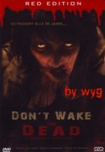 Jaquette Don't Wake the Dead (uncut)