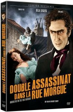 Jaquette Double assassinat dans la rue Morgue (Combo Blu-ray + DVD)