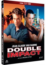 Jaquette Double Impact (Blu-Ray+DVD)