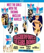 Jaquette Dr. Goldfoot and the Girl Bombs