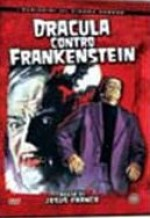 Jaquette Dracula Contra Frankenstein