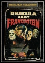 Jaquette Dracula Jagt Frankenstein (édition simple)