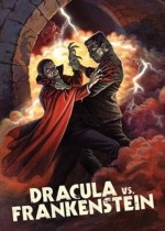 Jaquette Dracula vs. Frankenstein EPUISE/OUT OF PRINT