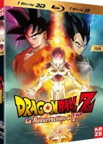 Jaquette Dragon Ball Z - Le Film : La r�surrection de F (Combo Blu-ray 3D + Blu-ray 2D)