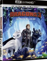 Jaquette Dragons 3 : Le Monde caché - 4K Ultra HD + Blu-ray