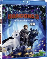 Jaquette Dragons 3 : Le Monde caché - Blu-ray 3D + Blu-ray