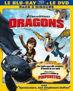 Jaquette Dragons (édition Blu-ray + DVD)