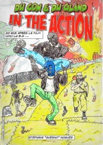 Jaquette Ducon et Dugland in the Action (DVD + BD)
